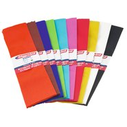 Crepe Paper (Mix 10 Assorted)