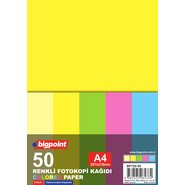 Colour Photocopy Paper (Mix 5 Colours) 50 Sheets