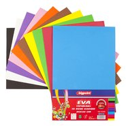 Adhesive Eva Foam 20x30cm (Mix 10 Assorted)