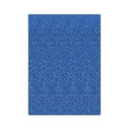 Glitter Eva Foam 50x70cm Blue 10 Sheets