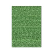 Glitter Eva Foam 50x70cm Green 10 Sheets