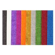 Adhesive Glitter Eva Foam 50x70cm (Mix 10 Assorted)