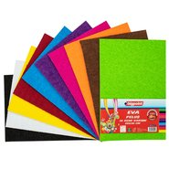 Eva Plushy Foam 20x30cm (Mix 10 Assorted)
