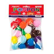 Ponpon 5cm 10 Colours (25 Pcs/Polybag)