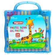 Oil Pastels 24 Colours with Blue Bag