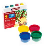 Finger Paint 4 Colours x 35ml