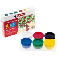 Finger Paint 6 Colours x 35ml