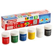 Acrylic Paint 6 Colours x 18ml