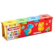 4 Colors Neon Dough Set 568 Gram