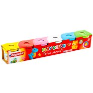 6 Colors Dough Set 600 Gram