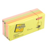 Sticky Notes 40X50mm 3 Blocks 4 Colours