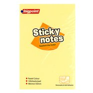 Sticky Notes 99x150mm Yellow