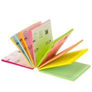 Sticky Cube 9 Neon Colours / 225 Sheets