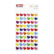 Sticker Color Seal Hearts