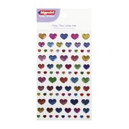 Sticker Patterned Hearts (Say, You Love Me)