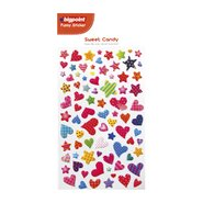 Sticker Sweet Candy Hearts And Stars
