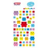 Sticker Robot Smiley