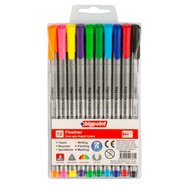 Fineliner 10 Assorted Colours/Blister