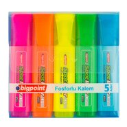 Highlighter 5 Colours/PP Box