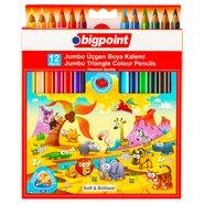 Jumbo Colour Pencils 12 Colours