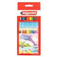 12 Aquarelle/Watercolour Pencils + Brush