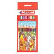 Metallic Colour Pencils 12 Colours