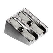 Metal Pencil Sharpener Double Holes