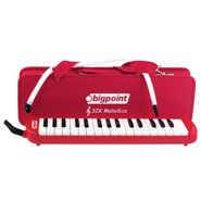 32K Organ Melodica with Bag Red