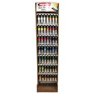 Oil Colour 200ml Wooden Display