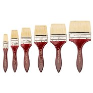 105/4' Natural Hair Flat Artist Brush