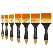 305/60 Synthetic Hair Flat Artist Brush