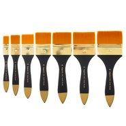 305/80 Synthetic Hair Flat Artist Brush