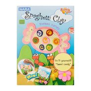 Kiddy Clay Spagetti Hamur 8 Renk 100 Gram Sweet Candy