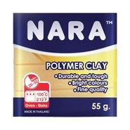 Nara Polymer Clay 55 Gram PM01 Beige