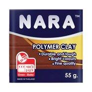 Nara Polymer Clay 55 Gram PM04 Chocolate