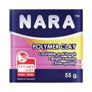 Nara Polymer Clay 55 Gram PM05 Rose Pink