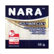 Nara Polymer Clay 55 Gram PM13 White