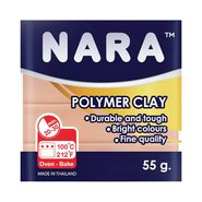 Nara Polymer Clay 55 Gram PM14 Cream