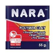 Nara Polymer Clay 55 Gram PM19 Crimson