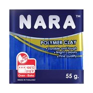 Nara Polymer Clay 55 Gram PM22 Dark Blue
