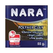 Nara Polymer Clay 55 Gram PM23 Soot Brown