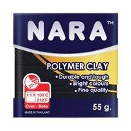 Nara Polymer Clay 55 Gram PM24 Black