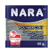 Nara Polymer Clay 55 Gram PM25 Metallic Grey
