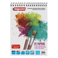 Kindergarten Art Notebook 25x35cm - 25 Sheets