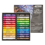 Artists' Oil Pastel 24 Colors