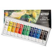 Acrylic Colour Set 12ml Tube x 12 Colours