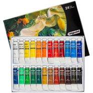 Acrylic Colour Set 12ml Tube x 24 Colours