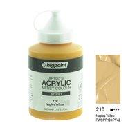 Acrylic Paint 500ml Naples Yellow 210