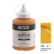 Acrylic Paint 500ml 220 C.yellow Deep
