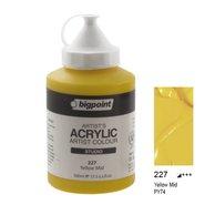 Acrylic Paint 500ml 227 Yellow Mid